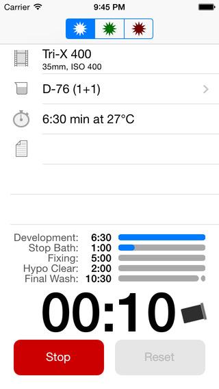 «Massive Dev» le logiciel pour le calcul des temps de bain de développement