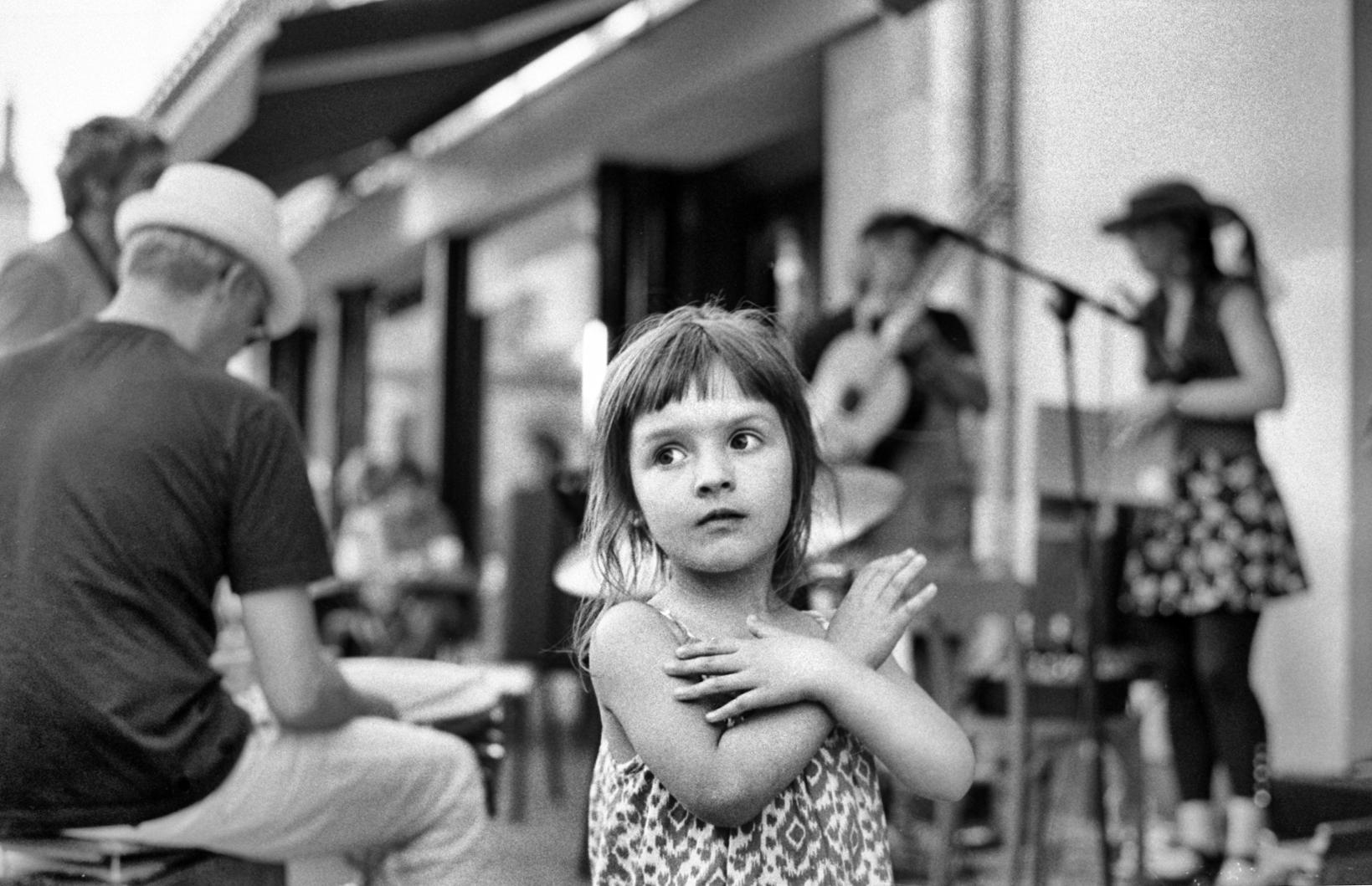 Portrait de rue : Maïa
