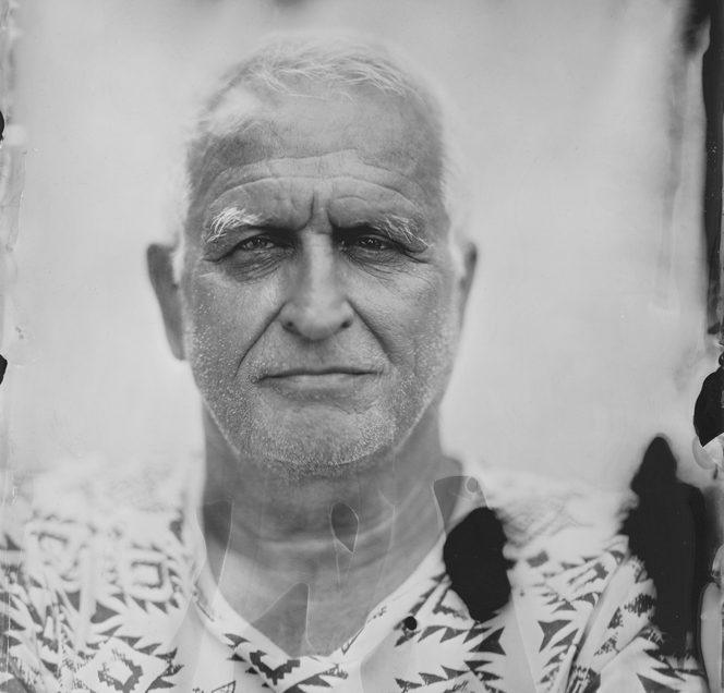 Portrait au collodion humide – «Dad»