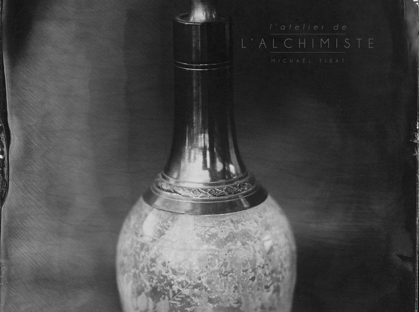 «Le Flacon» – ambrotype 13×18 cm