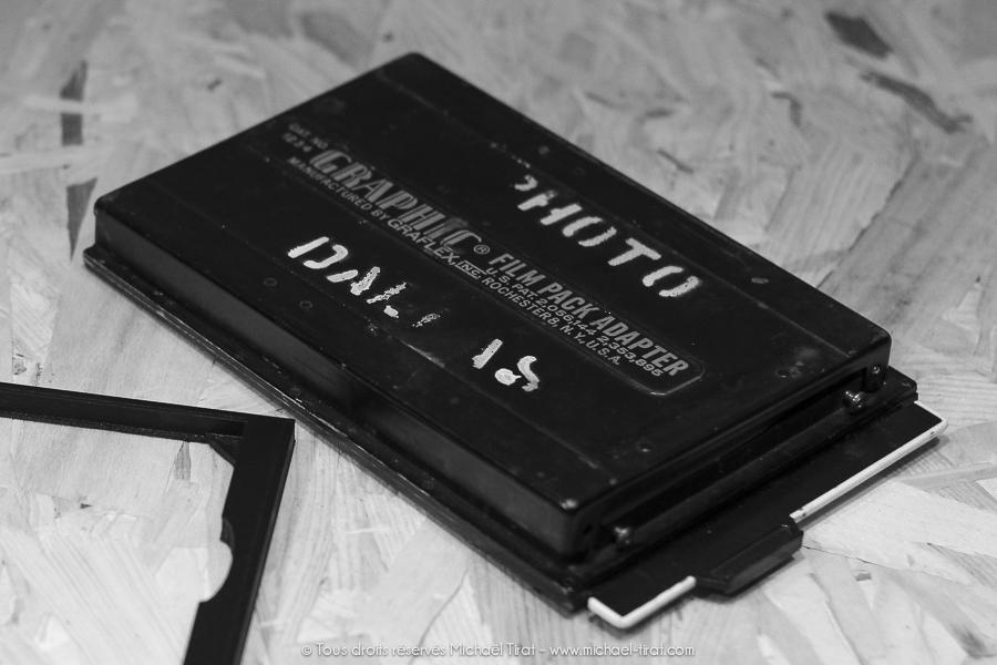 Adaptateur collodion 3D pour chassis Graflex 4×5