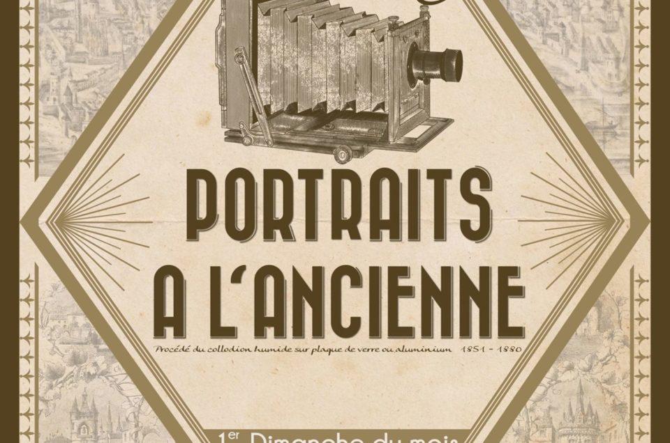 Portraits au collodion humide à Bordeaux
