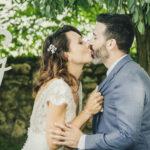 baiser mariage ceremonie laique