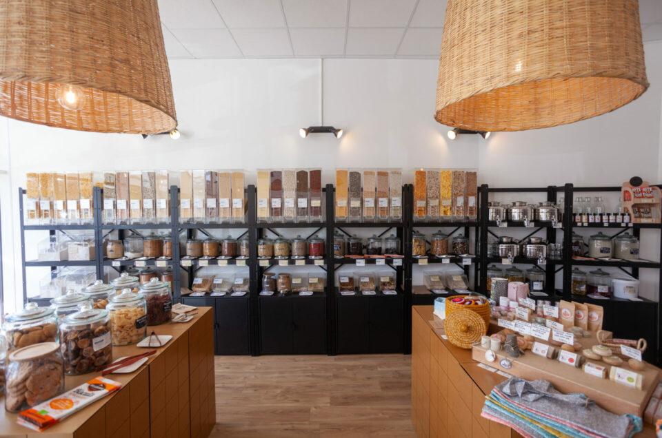 Photographie d'entreprise - L'épicerie Planète en Vrac